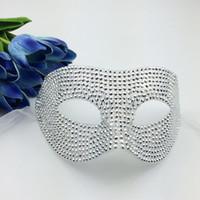 sexy vollgesichtige masken groihandel-Volle Kristallmasken-Luxuxprinzen-Masken-venetianische Maskerade-Partei maskiert halbes Gesichts-sexy Frauen-Masken-Karnevals-Hochzeitsgeschenk freies Verschiffen
