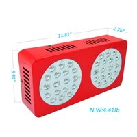 36X3W Led Grow Light 8 Band Multi Color Full Spectrum COB Led Cresça Luz