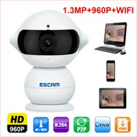 Wholesale Cctv Cameras Cars - wholesale NEW P2P Mini Household Wifi IP Camera HD 960P 1.3MP Onvif indoor Night Vision CCTV Security Cameras For Car and baby monitor