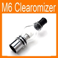 Wholesale Oxidation Oil - Best Price M6 Clearomizer Anti-oxidation 4.0ml Cartomizer for eGo Healthy Electronic Cigarette M6 Atomizer for Solid Smoke Oil freeshipping
