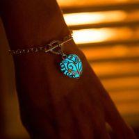 Wholesale Silicone Luminous Bangle - Luminous bracelets natural stone jewelry Austrian crystal bracelet adjustable bangle bracelet wholesale bead bracelets silicone bracelets