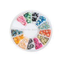 Wholesale Nail Clay Animal - Polymer Clay Nail Art Decoration Cute Mixed Animal DIY Craft Mixed 6.0cm, 5 Boxes(Approx 144PCs Box) (B46582)