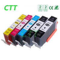 Wholesale Ink Cartridge 364xl - CTT 5pcs 364XL Ink Cartridges Compatible For HP Photosmart 5320 5370 5373 5388 5393 6350 6383 7380 7510 7520 e-All-in-One B8550