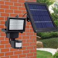 Wholesale Motion 12v - Sensor PIR Motion Led Floodlights Outdoor Led Solar Lights Waterproof Led Flood Lights 9V 10W Garden Lawn Light