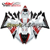 Petronas White Red Complete Fairings para Yamaha YZF600 R6 08 - 15 Ano 2008 2009 2010 2011 2015 Sportbike ABS Motorcycle Fairing Kit