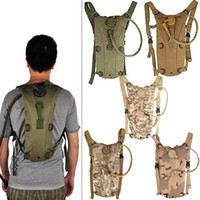 Wholesale Tactical Climbing Pack - Outdoor Sports Mountain Hiking Climbing 2.5L TPU Tactical Hydration Water Backpack Bag with Bladder 9 Colors Fashion 2509004