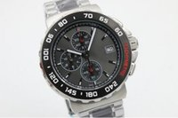 Wholesale Calibre Digital - luxury brand watch calibre 16 new limited quartz chrono mens watch sapphire glass original clasp sports TWO TOME menswatches