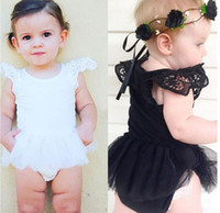 Girl black leotard baby - 2016 girls summer leotard new baby Leisi Ha clothing mesh veil pendulum kids fashion climb clothes factory direct