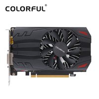 Wholesale Nvidia 2gb Graphics Card - Colorful NVIDIA GeForce GT1030-2G GPU 2GB 64bit Gaming GDDR5 PCI-EX4 3.0 Video Graphics Card DVI+HDMI 1 Cooling Fan For Desktop
