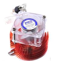 disipador de calor de enfriamiento de cobre al por mayor-PCCOOLER 1pcs 4cm ventilador cobre disipador de calor puente norte enfriador Little Fish (XIAOYUER) NB-400CU