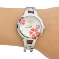Wholesale China Children Watches - New Arrival 1PC Bangle Cuff Watch Student Children Round Clover U Choose 15.5cm M2722 Cheap watch mobile phone china