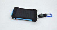 ingrosso caricabatterie di backup della batteria-20000mAh universale 2 porta USB caricabatterie solare di energia solare caricabatterie esterno con scatola al minuto per iPhone caricatore Samsung cellPhone
