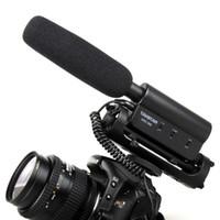 Wholesale Microphone Dslr - TAKSTAR SGC-598, TAKSTAR SGC-598 Shockproof hotshoe Condenser Recording microphone mic for interview movie pickup for DV DSLR