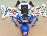 Novo ABS bike Kits de carenagem 100% para YAMAHA YZF-R6 98-02 YZF600 1998 1999 2000 2001 2002 carroçaria set blue red fiat