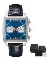 Wholesale Paper Pins - Luxury Mens Blue With Original Box Papers Men's Watches TAG WATCH CAW2111.BA0780