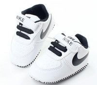 Wholesale Baby Shoes For Toddlers - baby Sport Shoes Baby Boys Sneakers indoor Toddler Shoes First Walkers Soft Bottom For Children Kids Girls