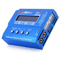 Wholesale Rc Battery Charger Nicd - Genuine SKYRC iMAX B6 Mini 60W Professional Lipo Balance Charger Discharger For RC Battery Charging Re-peak Mode For NIMH NICD