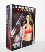 Wholesale Jillian Michaels BODYSHRED Workout DVD Base Kit BONUS DVD DVD INCLUDED Fitness workout BRAND NEW Fast DHL