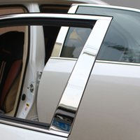 Wholesale Wholesale Toyota Camry - Stainless Steel Chrome Pillar Posts For Toyota Camry 2015 6pc Set Door Trim Kit