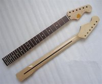 Wholesale Electric Guitars 24 Frets - 24 Frets maple Rosewood fingerboard Electric Guitar Neck Guitar Parts musical instruments accessories