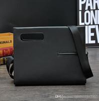 Wholesale File Slots - Factory Direct Brand Bag Retro Business Casual Male Hand Bag Fashion Men File Hand Bag Casual Crazy Horse Leather Handbag Business