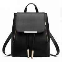 Wholesale Retro Fashion School - 2015 Fashion Canvas Backpack Designer handbag Retro Shoulder Bags School bag computer bag Free Shipping