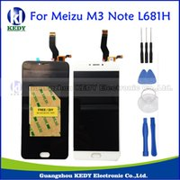 Atacado- Para Meizu M3 Note L681H Display LCD + Monitores de tela de toque Screen Replacement Parts Meizu L681h with Tools + Adhesive