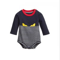 Wholesale One Year Boy - Neonatal one-piece dress autumn and winter baby full-haired boy and woman 0-1 year-old six months baby clothes neonatal jumpsuit autumn