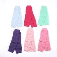 Wholesale Disco Dresses - 2016 New Pattern Leg Warmers Neon Plain Fancy Dress Ladies Girls Disco 80s Part Womens Legwarmers Knee High Socks Women Leg Socks