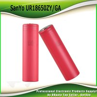Wholesale Original Kanger Mini - Original SANYO UR18650ZY GA 18650 Battery ZY 2600 GA 3500mAh 3.7V Rechargeable Battery Fit Authentic Kanger subox mini c kit 100% genuine