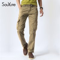 Wholesale Rugged Pants - Wholesale-2016 Summer Mens rugged cargo pants regular fit Milltary Army Overalls Pants Outdoor Tactical Casual trousers Size:28-38 2815