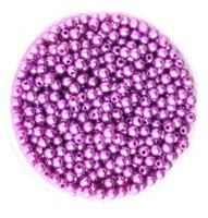 Wholesale Multi Color Glass Beads - 500pcs set Dia 6mm Multi-Color Round High Quality ABS Pearl Glass Beads DIY Craft Fashion Jewelry Accessories Garment Beads