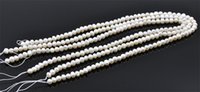 Wholesale Oval Pearl Beads Loose - New Noble Natural Fresh Water Loose Pearl Beads 5MM Fine Wedding Jewelry High Quality for Wholesale Free Shipping