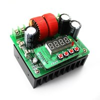 Wholesale Voltage Boost Regulator - 1piece Free shipping DC-DC 400W 6-40V to 8v-80v 10A Boost Converter Step-up Module Power Supply
