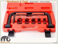 Wholesale Car Engine Valves - 10pc Valve Spring Compressor Hollow Pulley Tool Kit for Car Motorcycle Engines