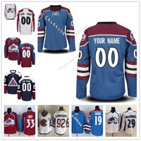 Stitched Custom Colorado Avalanche para mujer para mujer juvenil OLD BRAND azul marino para tercera marca Customized White Red royal hockey Jerseys S-4XL
