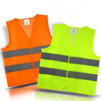 gilets de sécurité réfléchissants achat en gros de-Sécurité Sécurité Visibilité Gilet réfléchissant Vert Orange Gilet de sécurité Construction Sécurité Gilets de sécurité Gilets de sécurité OOA2970