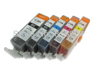 Wholesale Cli 525 - Free shipping! 100% guaranteed! 2 SET OF PGI525 PGI-525 CLI-526 ink Cartridges WITH CHIP for PIXMA MG6100 MG6150 MG6250 printer