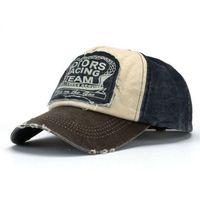 Wholesale Low Profile Ball Caps - Brand New Unisex Baseball Cap Cotton Motorcycle Cap For Women men Low Profile Hat Adjustable 2016