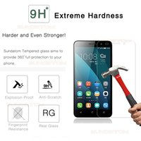 Wholesale Original Huawei Ascend P6 - Original Tempered Glass Screen Protector For Huawei Mate S 7 8 HUAWEI Ascend P6 P7 P8 Lite P9 Plus Protective Film with Retail Package Box