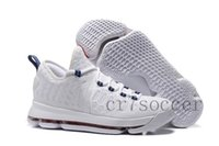 Wholesale Kd Shoes Low Cheap - cheap Kevin Durant Basketball Shoes KD 9 PREMIERE KD 9 UNLIMITED Sports Shoes Men Sneakers White University Red Racer Blue KD VIIII Athletic