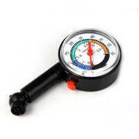 Wholesale Wholesale Truck Tires Free Shipping - Wholesale-2016 New Hot 1pcs Auto Motor Car Truck Bike Tyre Tire Air Pressure Gauge Dial Meter for Vehicle Tester Free Shipping&Wholesale
