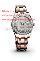 Wholesale Divers Woman - Luxury High Quality 34mm AAA+quality 3 colors Ladys Women Brand Watch New arrivel Crystal Diamond Automatic Mechanical Wrist Watches