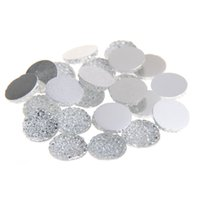 Wholesale Crafts Embellishments - 8mm-18mm Clear Color Round Glue On Resin Beads Flatback Scrapbooking Crafts Non Hotfix Rhinestones DIY Bags Shoes Clothes Embellishment