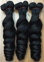 en iyi saç paketleri toptan satış-Brezilyalı Saç 8A Gevşek Dalga 3 Demetleri Brezilyalı Saç Örgü Demetleri Insan Saçı Brezilyalı Gevşek Dalga en kaliteli saç