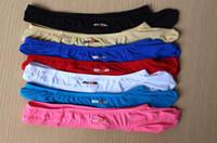 Wholesale Jockstrap Free Underwear - sexy mens ice silk G-strings Thongs Man Thong Jockstraps G String Gay Underwear 918