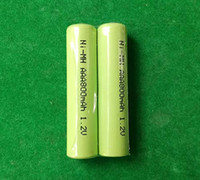 Wholesale cell nimh battery for sale - Group buy 200pcs Hot v AAA mAh rechargeable battery NiMH A cells for RC Toys