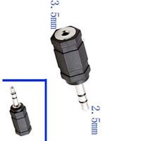 adaptateur micro jack achat en gros de-2.5 mâle à 3.5mm femelle stéréo mic audio convertisseur adaptateur adaptateur jack