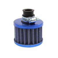 Intake Universal Air Froid Auto Mini 12mm Car Air Filter Cleaner Valve Cover réutilisable Crankcase Vent reniflard Cone