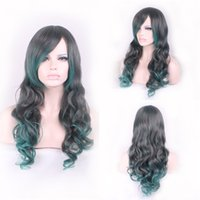 Curly blond wig cosplay - Cosplay wig blond wig with bangs lace front synthetic wigs inch mix color long kinky curly wig new arrival